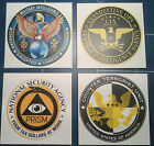 UNITED STATES GOVERNMENT AGENCY STICKERS: F.B.I ./  C.I.A.   /N.C.I.S. + MORE for sale  United Kingdom