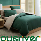 Premium High Quality 4pcs Solid Color Single Size Bed Doona Quilt Covers Sets