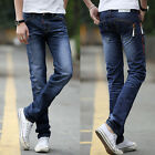 FOR XMAS Men's Boys Slim Fit Straight Jeans Pants Skinny Casual Trousers STYLISH