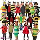 KIDS INSECT BUG CATERPILLAR LADYBIRD LADYBUG BEE SPIDER FANCY DRESS COSTUME