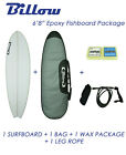 "NEW Billow 6'8"" Epoxy Fish Surfboard Package with 5xFCS fins Shortboard"