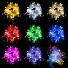 100LED 10M/32ft 220V Fairy Light String Decoration Christmas Xmas Party Wedding