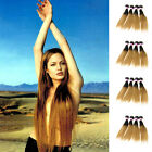 50 g Straight Peruvian Unprocessed Human Hair Extensions Two Tone Remy Hair Hot