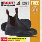 Mongrel 940030 Work Boots. Soft Toe Comfort, Tan, Elastic Sided,  FULLY LINED!