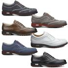 2015 ECCO Tour Hybrid Wingtip Spikeless Waterproof - Leather Mens Golf Shoes