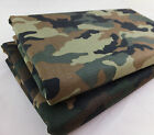 Camouflage 100% Cotton Twill Fabric Army Military