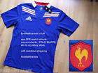 S M L XL XXL ADIDAS FRANCE RUGBY SHIRT Jersey Home FFR ORIGINAL PACKAGING Tag