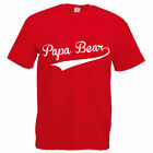 PAPA BEAR - Father / Daddy / Dad / Gift Idea / Funny Themed Men's T-Shirt