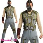 Mens Licensed Bane Mask Costume Batman Adult Dark Knight Fancy Dress Halloween