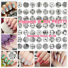 Origional BORN PRETTY 01-55 Nail Art Stamping Printing Template Image Plates New