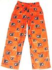 Philadelphia Flyers Hockey Youth Pajama Lounge Pants Orange NWT