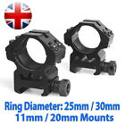 25.4mm / 30mm  Rifle Scope High Ring Mount 11mm 20mm For Picatinny Weaver Rail