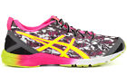 Asics Gel Hyper TRI T581N 9907 New Womens Onyx Yellow Pink Athletic Running Shoe