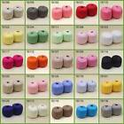 LOT of 2 Balls X 50g High quality soft 100% Cotton Crocheted Yarn