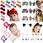 Kids Girls Baby Toddler Infant Flower Headband Headwea Hair Bow Band Accessories