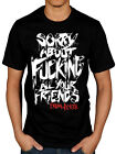 Official Falling In Reverse Sorry About T-Shirt Rock Band Fan Merch Hardcore