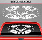 Design #129-01 SKULL Back Window Decal Sticker Vinyl Graphic Celtic Knot Tribal