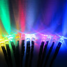 5V 9V pre-wired 3mm 5mm LED light colorful 20cm line car Model DIY