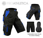 MTB Cycling Shorts,Mountain Biking,Off Rd,Detachable Inner Lycra Padded Liner