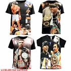 Muhammad Ali Mike Tyson May weather T-shirt 3D SUBLIMATION GRAPHIC T SHIRT Tee