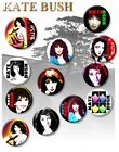 "AMAZING KATE BUSH/ 25 MM/ 1 "" BUTTON BADGE...INCREDIBLE!!WOW!!!"