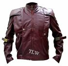 STOCK CLEARANCE 60%, STARLORD Guardians of the Galaxy Chris Leather Jacket