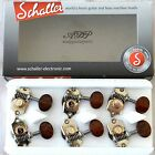 Mecaniques Schaller Grand Tune 3R+3L Style Waverly Tuners 1:18 SNAKEWOOD button for sale