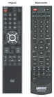 Original Sylvania/Emerson NF033UD Replacement Remote Control by Anderic (NEW)