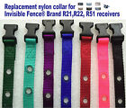 """Invisible Fence Brand R21 R22 R51 Replacement Nylon Collar 3 /4"""" 2 Hole NEW"""