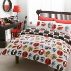 # Bedding range, Hashtag ALFONSO red and black bold design, in single double ...