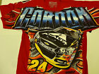 NASCAR JEFF GORDON 2015 No 24 AXALTA TOTAL PRINT T SHIRT MEDIUM-3XL BRAND NEW