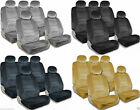 PREMIUM Full Set Seat Covers Airbag Safe 8mm Quality Double Stitched Fabric 2L