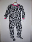 CARTER'S CHILD OF MINE FOOT-IN SLEEPER ANIMAL STRIPE NEW!!!