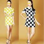 charmeuse silk fabric stretch checked pattern 2 colors sell by yardage