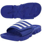 adidas Originals ZXZ Slide Mens Blue Flip Flops Slides Pool Shoes Sandals