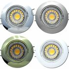 83mm Gu10 COB Power LED Downlights 5W 230V Gu10 Aluminium Schwenkbar - EEK A