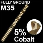 HSS DRILL BITS 3/64, 1/16, 5/64, 3/32, 1/2 COBALT M35 METAL STEEL TWIST IMPERIAL