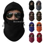 Fashion Fleece Thermal Sports Motorcycle Bike Balaclava Ski Face Mask Hood Hat