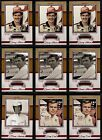 2013 Press Pass Legends Red Parallel 99 You Pick Your Favorite Driver A