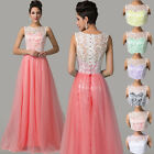 New Prom Dress Long Lace Evening Formal Party Wedding Ball Gown Bridesmaid Dress