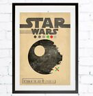 A3 or A4 Size * STAR WARS Alternative Movie Posters * Minimal Vintage Wall Art <br/> BUY2 GET1 FREE * UNIQUE VALENTINE&#039;S DAY GIFTS PRESENTS