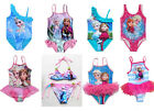 Girls Kids  Princess FROZEN Swimsuit Swimwear 3-9T Swim Lovely Child Clothes