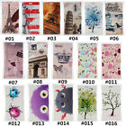 Classic Cartoon Vintage PU Leather slot wallet flip Case Cover For LG #2