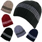 Ribbed Skull Ski Beanie Hat one size various colours brand new