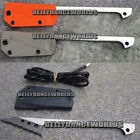 FISH SPEAR SAW TOOTH BLADE FISH SCALE CUTTING KNIFE FISHING HUNTING TROUT KNIFE