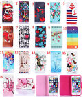 New Wallet Leather Case for Samsung Galaxy Avant SM-G386T Core SM-G386F iphone 5