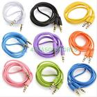 3.5mm Male to Male AUX AUXILIARY Stereo Audio Cable for PC iPhone iPod MP3 CAR