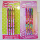 DISNEY PRINCESS AND MINNIE MOUSE & DAISY DUCK POP UP PENCILS 4 PACK