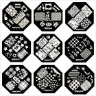 QA90-98 Nail Art Stamping Plates Image Printing Templet Mold Manicure New