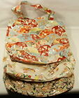 PVC outer tote beach bag splash proof various patterns NWOT